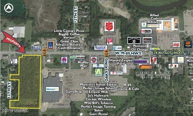 Plainwell Michigan Map.1328 1340 W Hwy Plainwell Mi 49080 Land For Sale And Real Estate