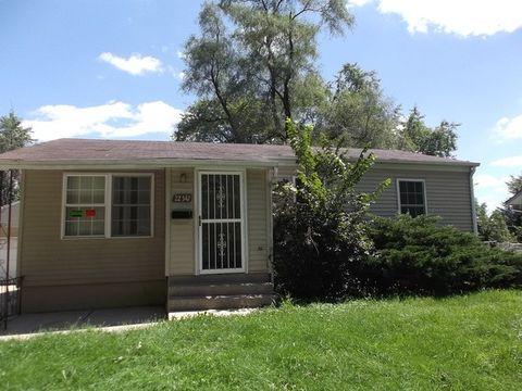 22347 Yates Ave, Sauk Village, IL 60411
