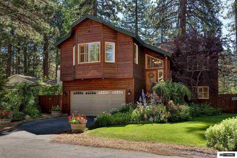 Lakeside Mobile Home Park Neighborhood In South Lake Tahoe