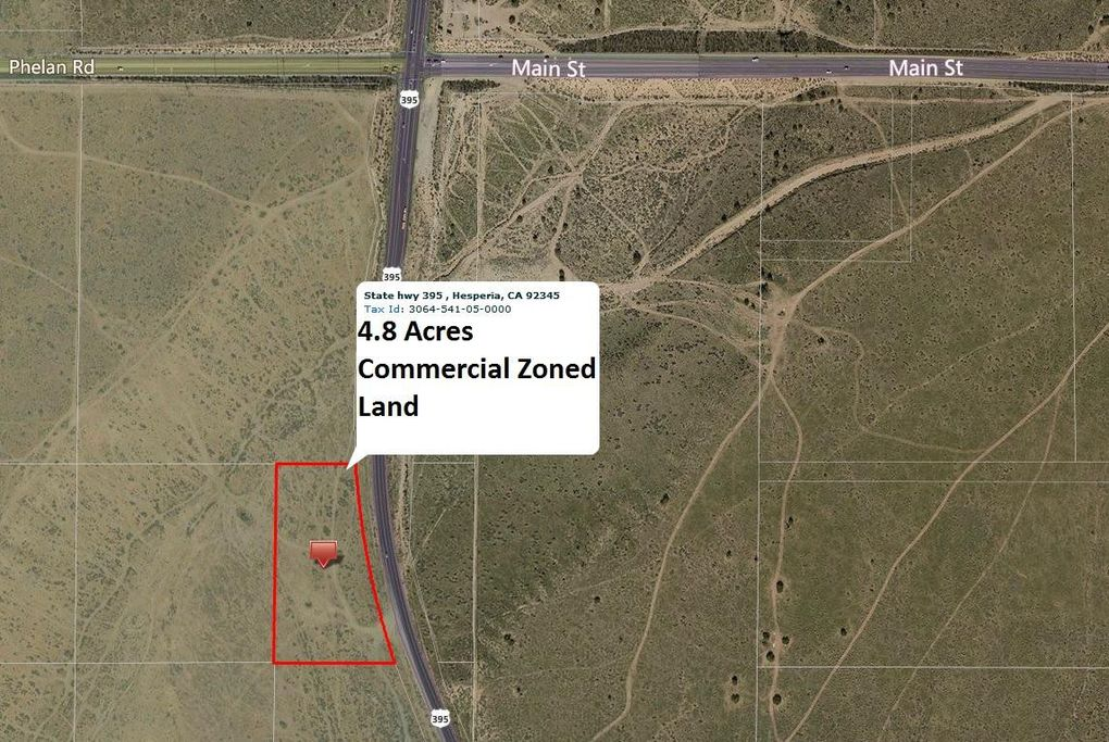 306454 Ca 395 Hwy Hesperia Ca 92345 Land For Sale And Real