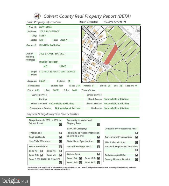 New Home Access Center Calvert County