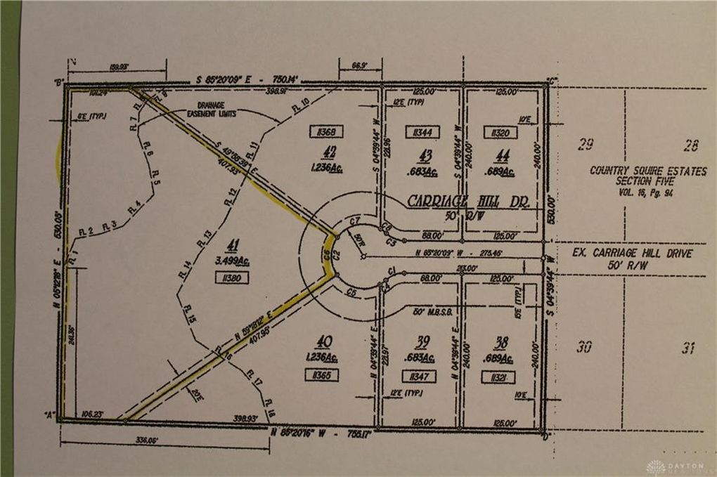 11380 Carriage Hill Dr New Carlisle Oh 45344 Land For Sale And