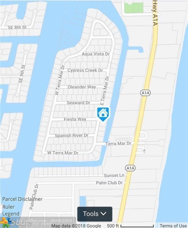 Pompano Beach Map Of Florida.1800 E Terra Mar Dr Pompano Beach Fl 33062 Realtor Com