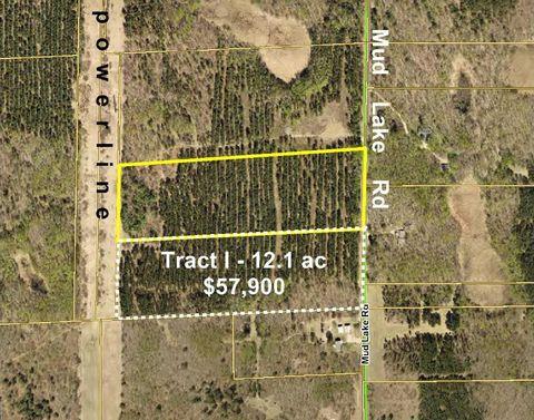 Tracth Mud Lake Rd, Lake Edward Twp, MN 56468