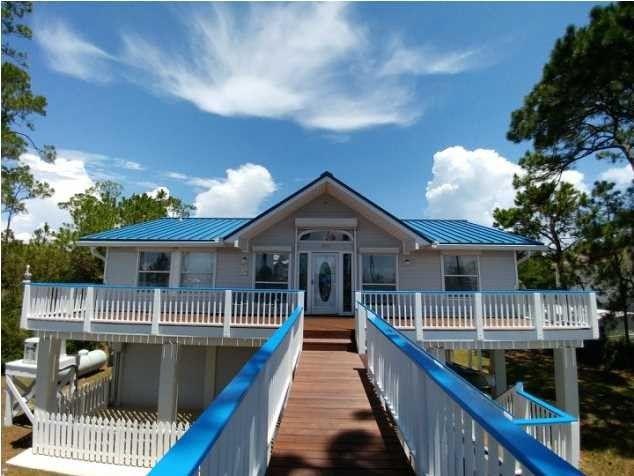 1201 E Gulf Beach Dr, Saint George Island, FL 32328