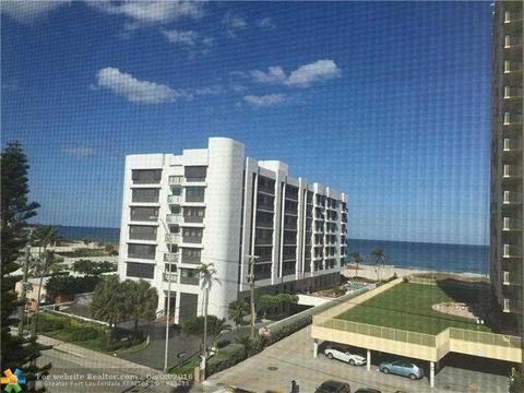 801 N Ocean Blvd Apt 501, Pompano Beach, FL 33062