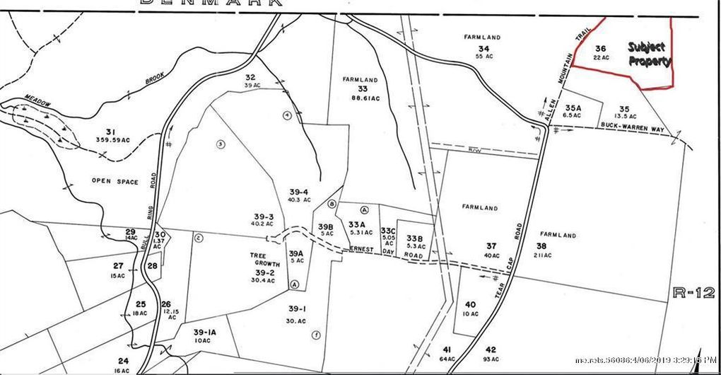 Hiram Maine Map.0 Allen Mountain Trl Hiram Me 04041 Land For Sale And Real