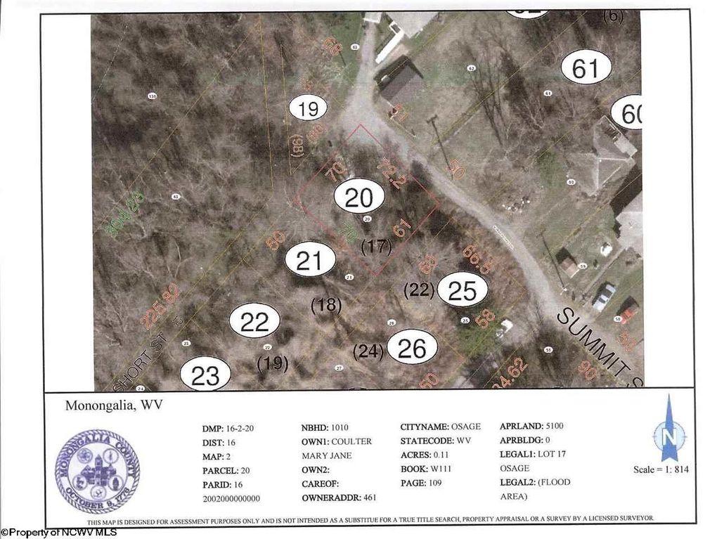 Summit St Lot 17 Osage, WV 26543