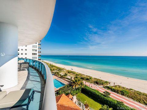 5959 E Collins Ave Unit 1107 Miami Beach Fl 33140 Condo Townhome