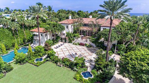 Photo Of 125 Via Del Lago Palm Beach Fl 33480 House For