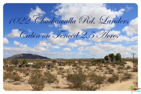 1022 Chuckawalla Rd, Landers, CA 92285