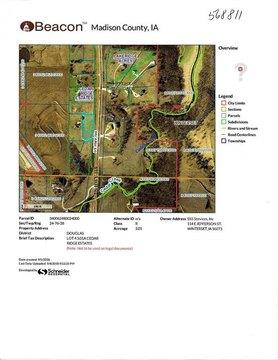 Lot 4 Cedar Ridge Estates Highway 169 North Highway Hwy N Lot 4, Winterset, IA 50273
