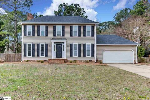 P O Of 6 Pine Gate Ct Greenville Sc 29607 House For Sale