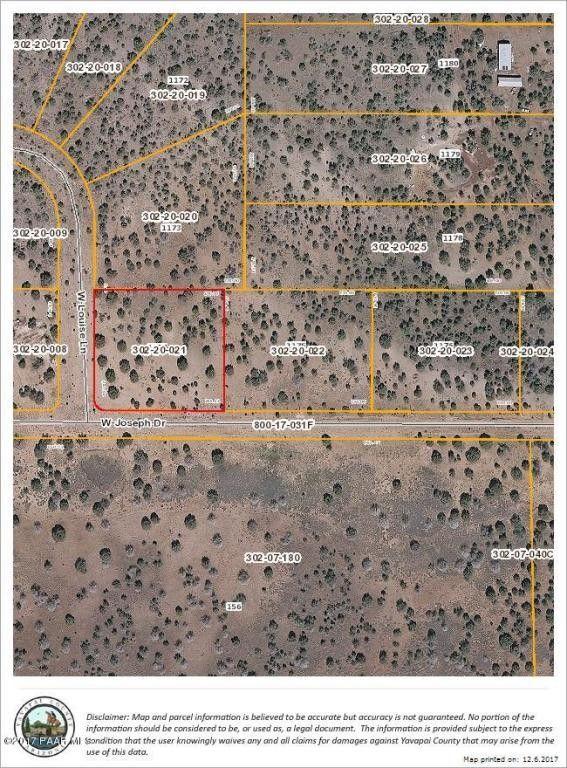 1650 Joseph Dr Lot 1174, Ash Fork, AZ 86320