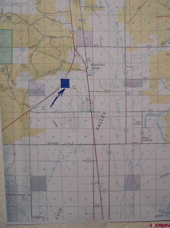 Hwy 285 Colorado Map.Highway 285 Saguache Co 81149 Realtor Com