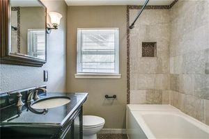 9710 El Patio Dr, Dallas, TX 75218   Bathroom