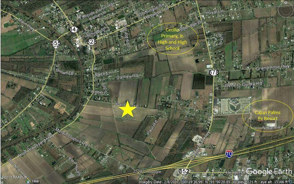 Dermelie Calais Rd Lot 10, Breaux Bridge, LA 70517 on cajun country cottages breaux bridge, pechanga rv resort map, southern palms rv resort map,
