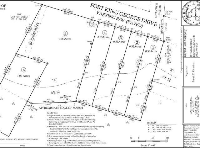 Fort King George Lot 1 Darien Ga 31305