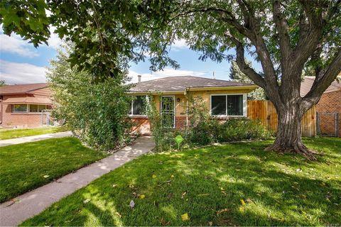 Park Hill Denver CO Real Estate Homes For Sale
