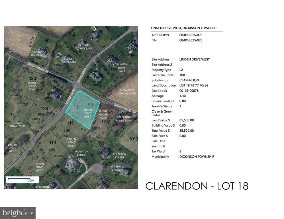 Clarendon-linden Dr W Lot 18, Carlisle, PA 17015 - Land For Sale and on