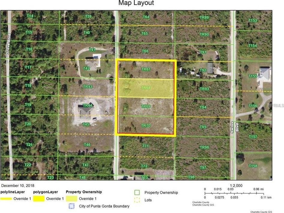 Map Of Punta Gorda Florida.8442 Austrian Blvd Punta Gorda Fl 33982 Land For Sale And Real
