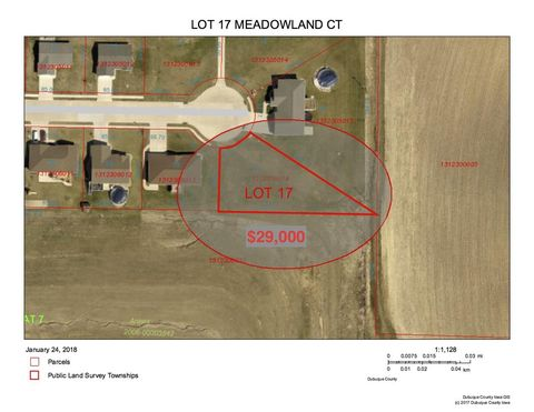 Meadowland Ct Lot 17, Epworth, IA 52045
