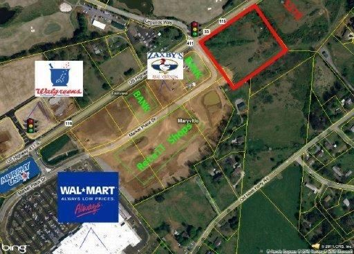 S Us Hwy Maryville TN Land For Sale And Real - Where is maryville on the us map