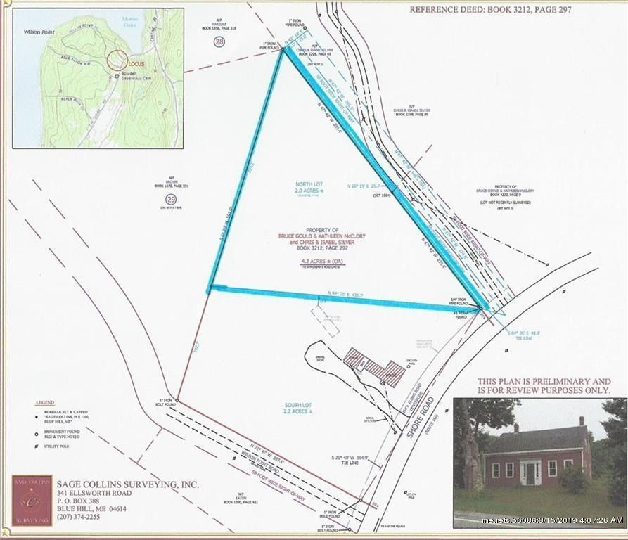 722 A The Shore Rd Castine Me 04421 Land For Sale And Real