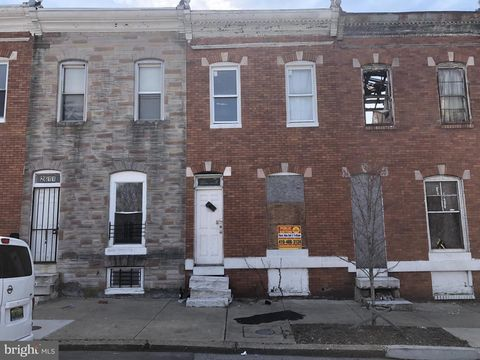 Photo of 2613 W Fayette St, Baltimore, MD 21223