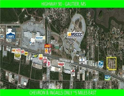 1600 Highway 90 Gautier Ms 39553 Land For Sale And Real Estate