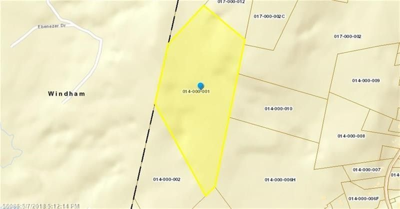 Map 14 Methodist Rd Lot 1 Westbrook ME 04092 Land For Sale and