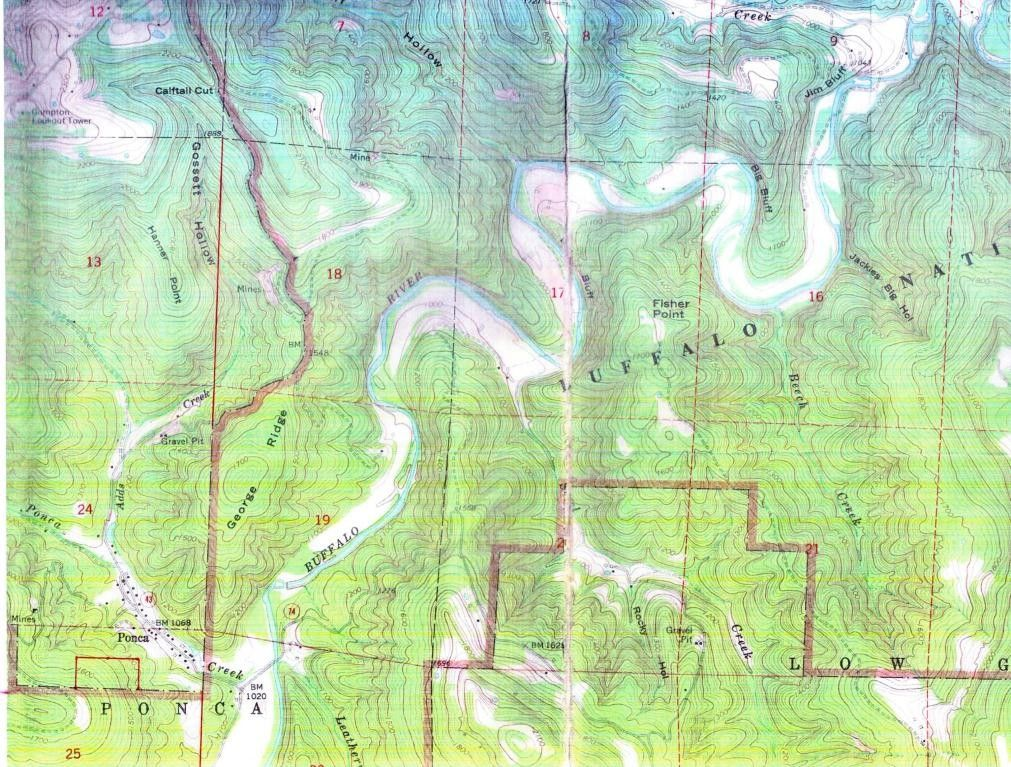 Ponca Arkansas Map.Off 43 Hwy Ponca Ar 72670 Realtor Com