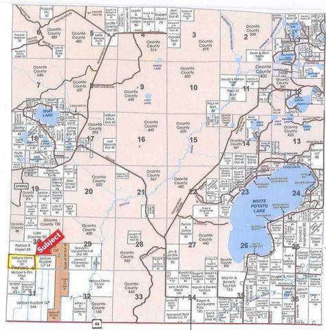 Highway 64 Brazeau Pound WI 54161