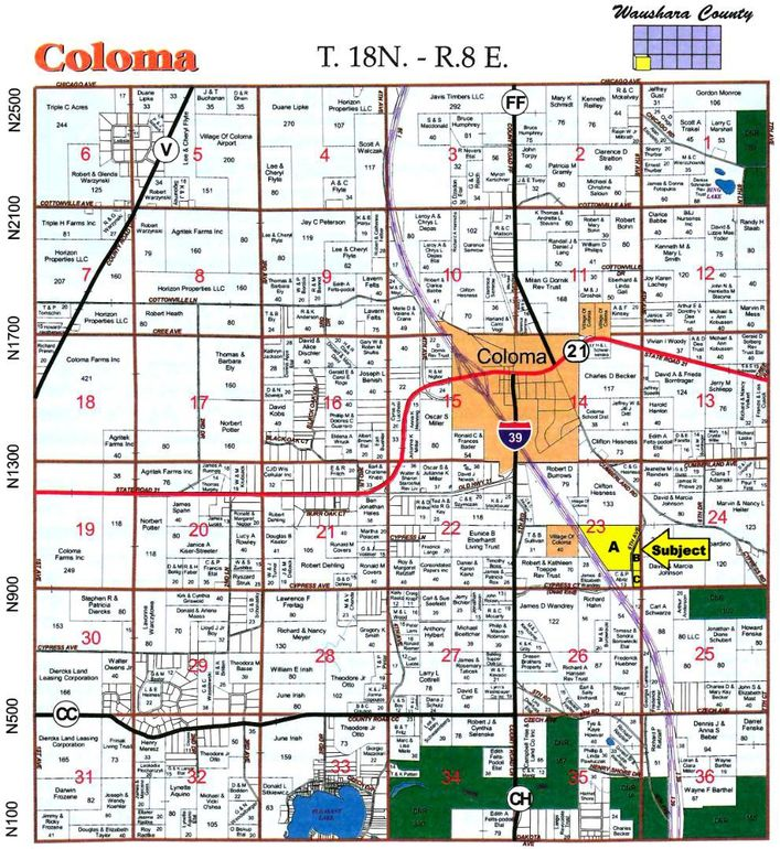 Coloma Wisconsin Map.6th Ave Coloma Wi 54930 Land For Sale And Real Estate Listing