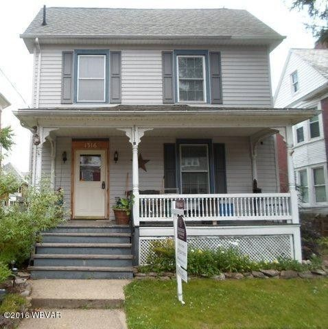 1316 elmira st williamsport pa 17701 home for sale for Fish real estate williamsport pa