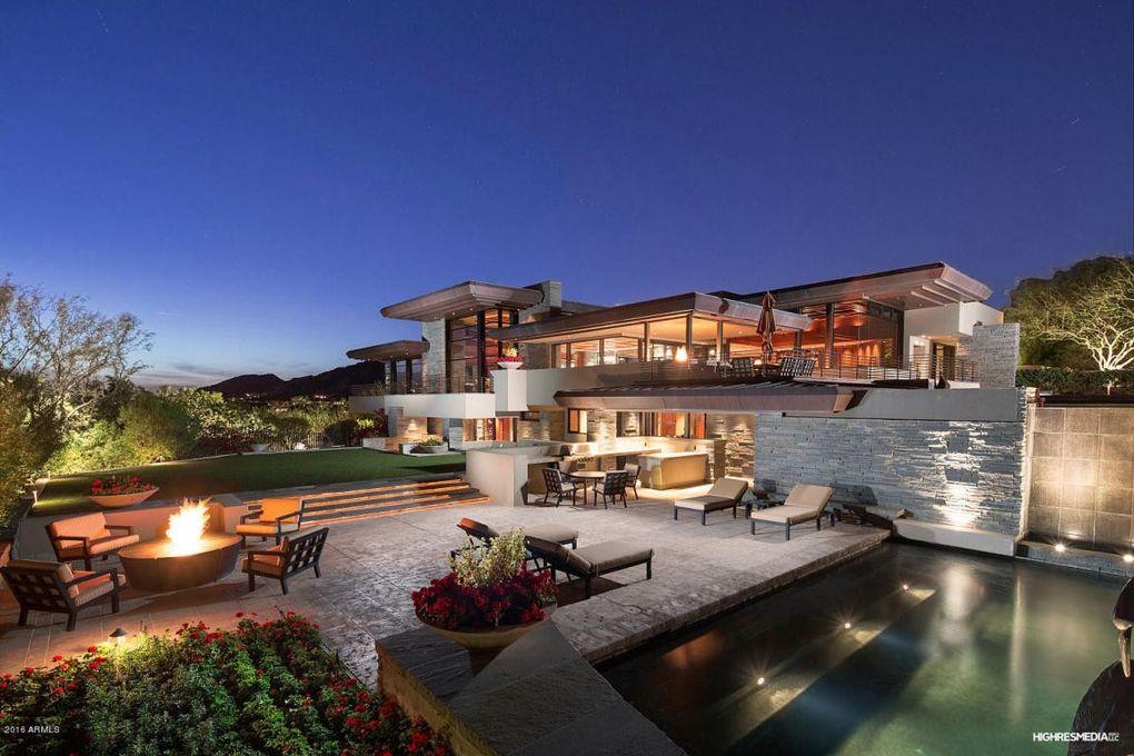 6067 n paradise view dr paradise valley az 85253 for Modern homes arizona