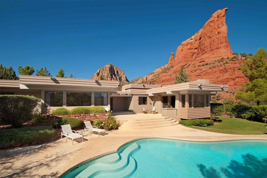 homes for sale in sedona arizona with a pool