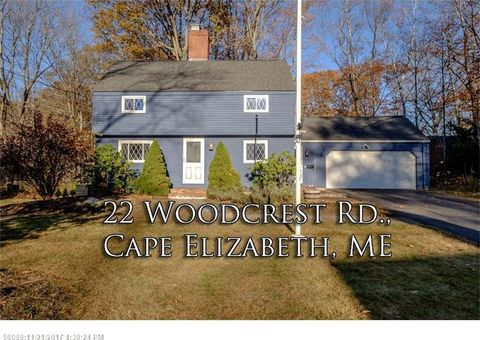 22 Woodcrest Rd, Cape Elizabeth, ME 04107