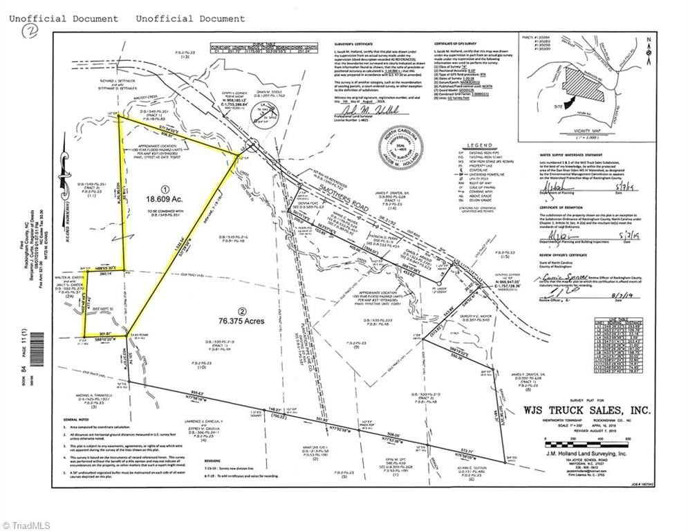 56 9 Ac Smothers Rd Madison Nc 27025 Land For Sale And Real