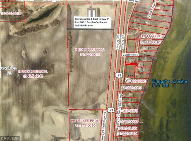 Ne Us Highway 71 Willmar Mn 56201 Land For Sale And Real Estate - Us-highway-71-map