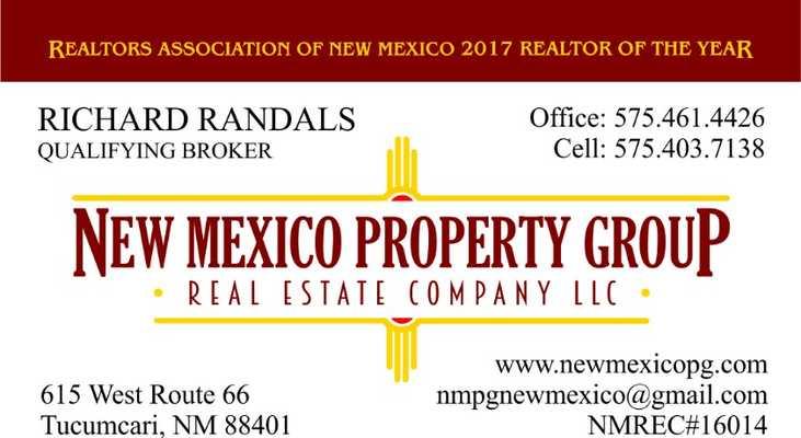 richard randals tucumcari nm real estate agent