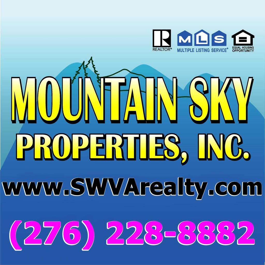 This listing is presented by Mountain Sky Properties, Inc.