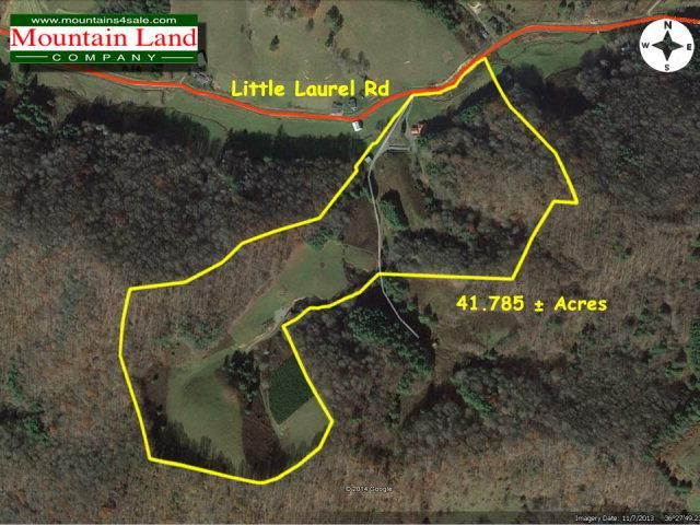 Creston Nc Map.3815 Little Laurel Rd Creston Nc 28615 Realtor Com
