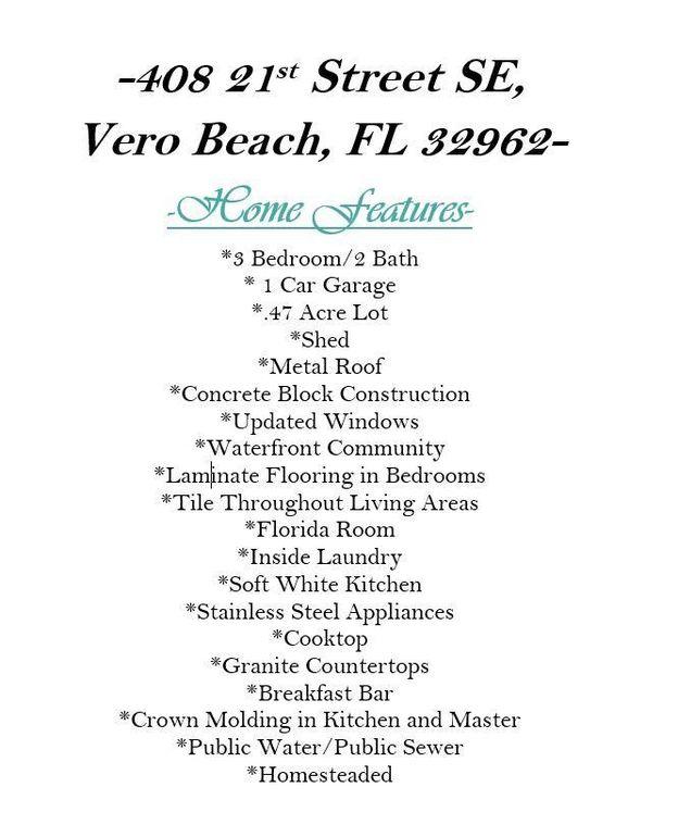 408 21st St Se, Vero Beach, FL 32962