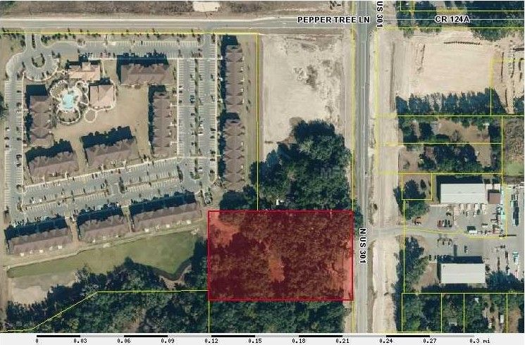 N Us Highway Wildwood FL Recently Sold Land - Us route 301 map