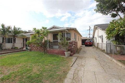 east los angeles ca recently sold homes