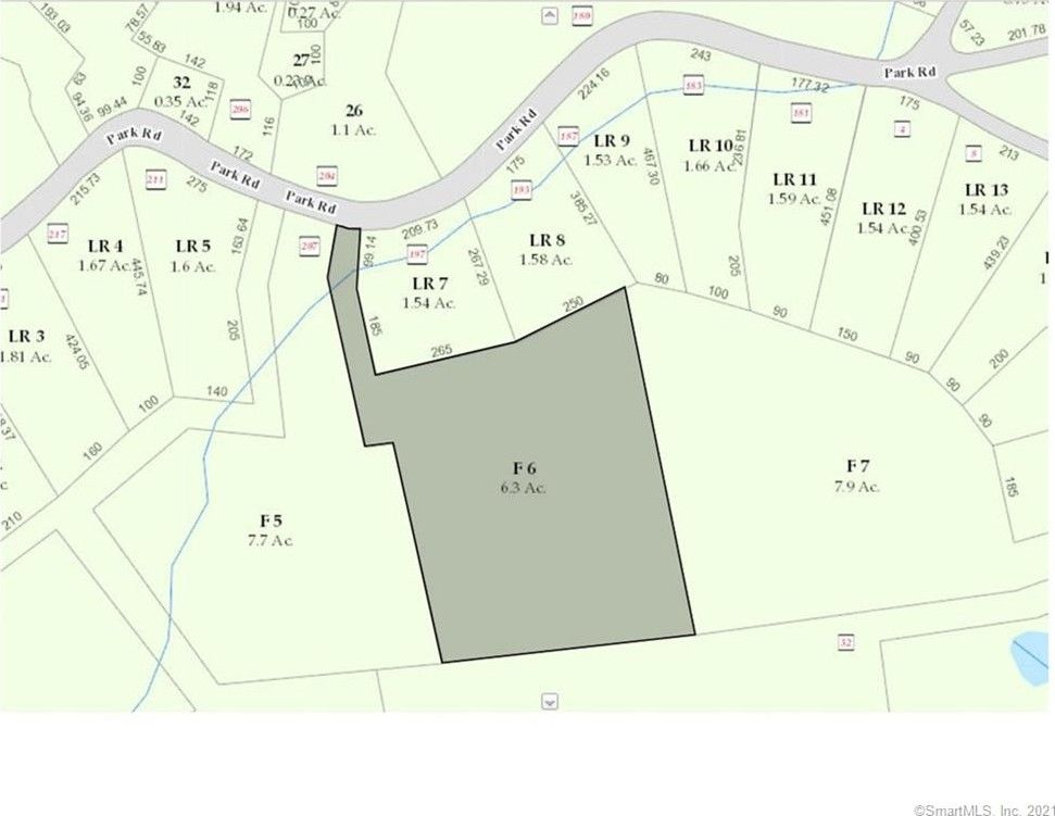 Park Rd Lot 6 Oxford, CT 06478