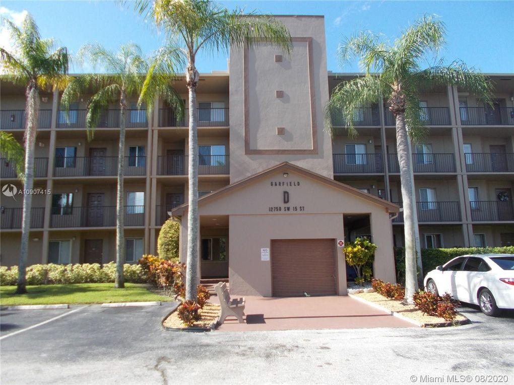 12750 SW 15th St Unit 206D Pembroke Pines, FL 33027