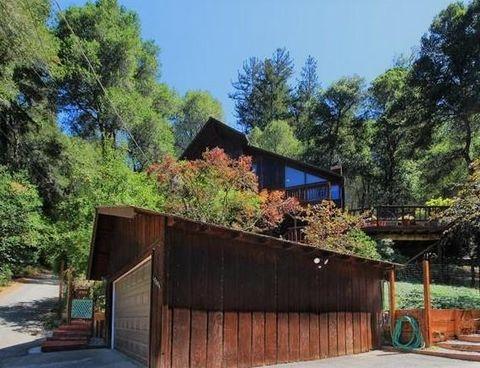 17384 Tressel Pass Rd, Boulder Creek, CA 95006