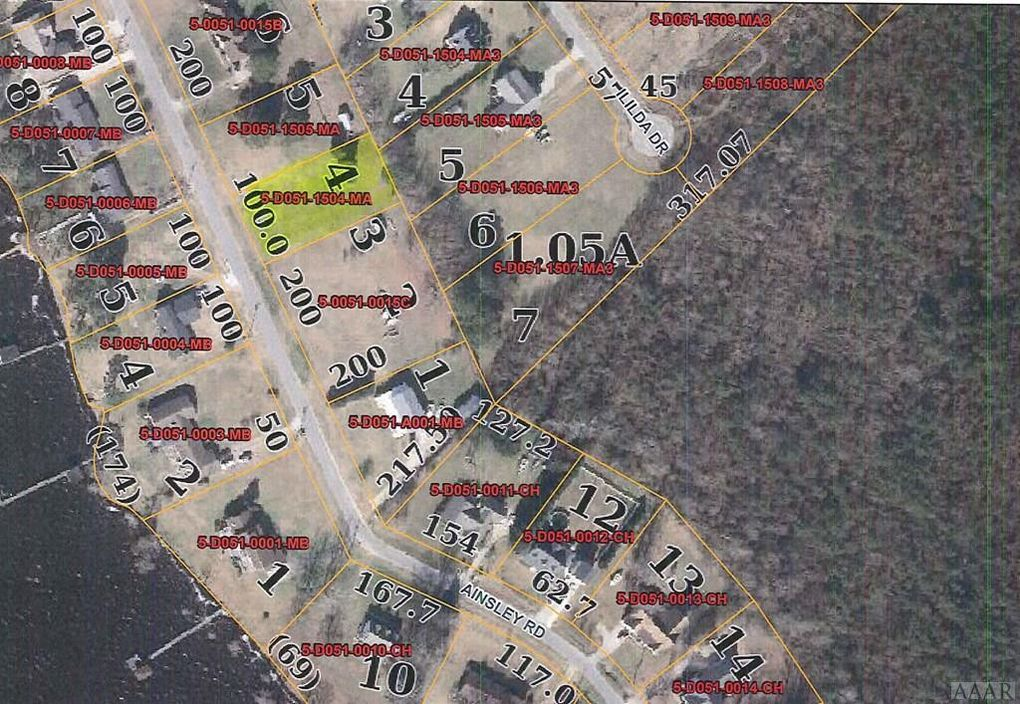 Ainsley Rd Hertford Nc 27944 Land For Sale And Real Estate